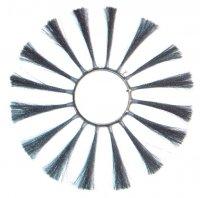 Пучковые щетки с металлическим ворсом